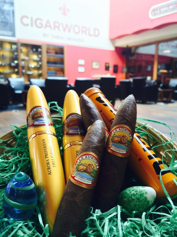 Cigarworld Lounge Ostern Nest