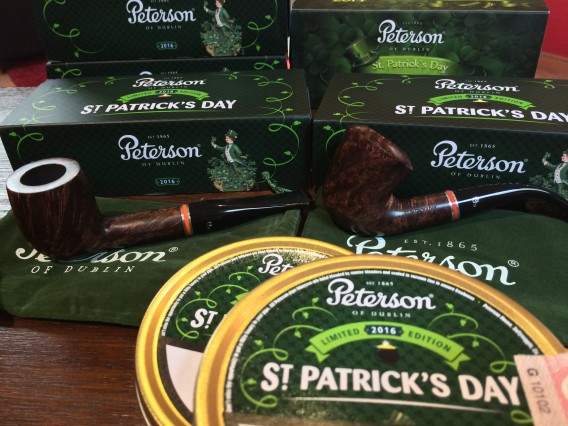 St. Patrick's Day Peterson Pfeife