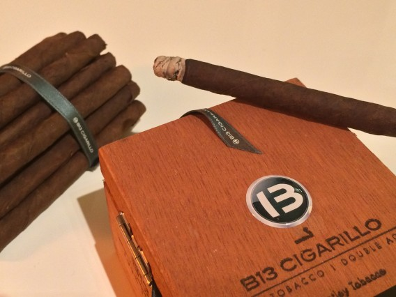 Bentley cigarillos burn box