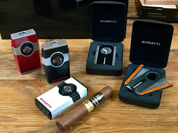 Bugatti Cigar Cutter Lighter