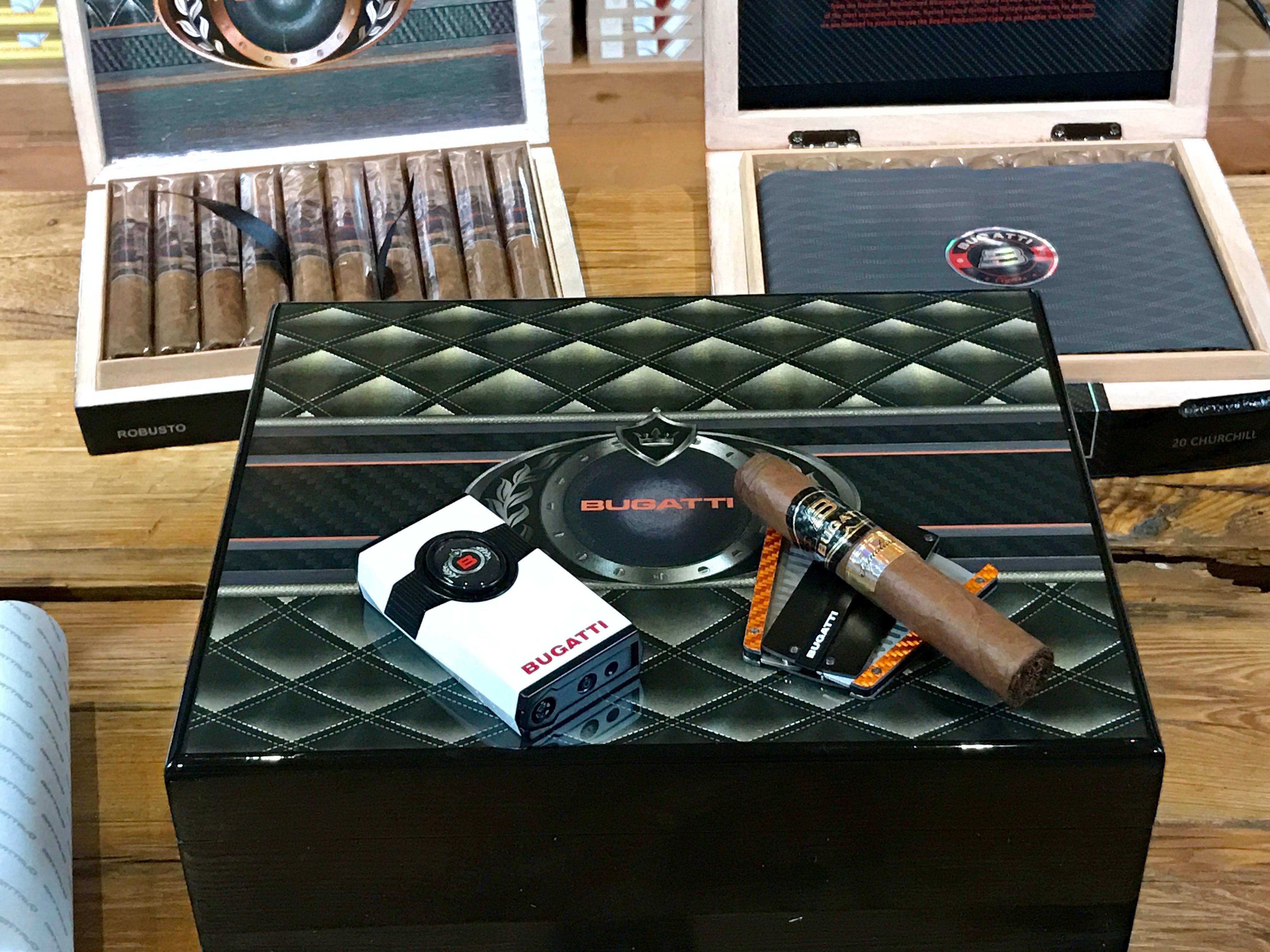 Bugatti Cigar Humidor