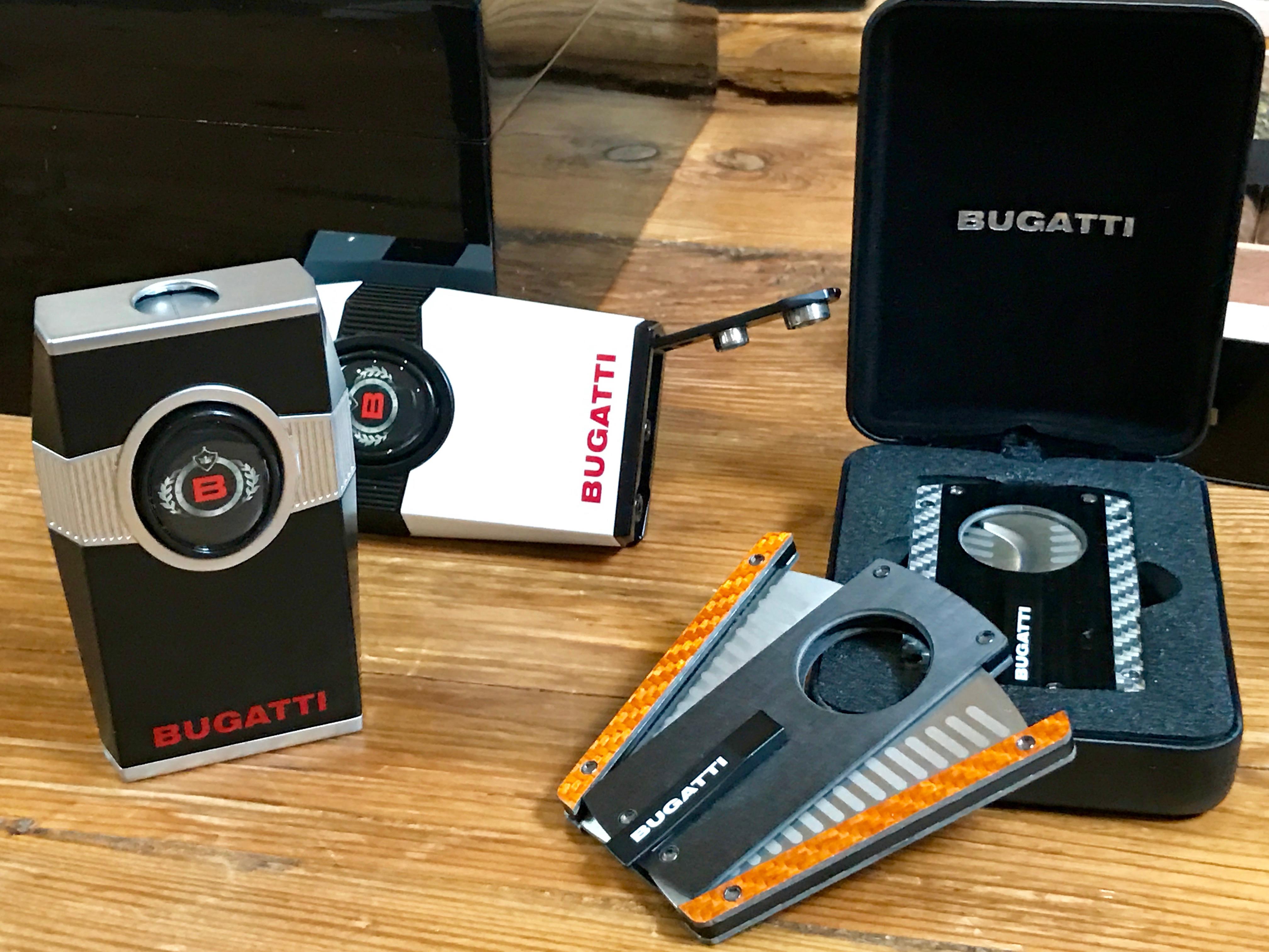 Bugatti Zigarren Feuerzeug Cutter