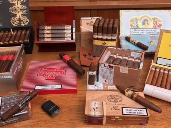 Box pressed Zigarren cigars