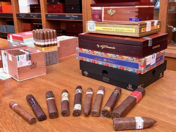 Box-pressed Zigarren Kisten