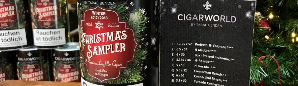 Factory Overrun Nicaragua Christmas Sampler 2017 Cigars Zigarren