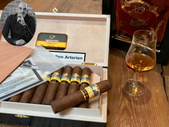 Niko Cohiba Maduro 5 Magicos Cigarworld Team