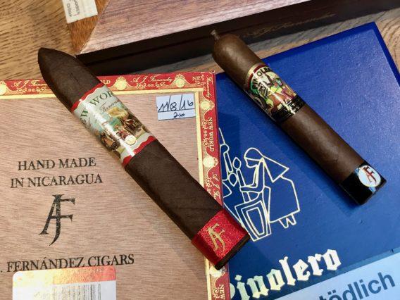 New World Pinolero Cigars Boxing Date