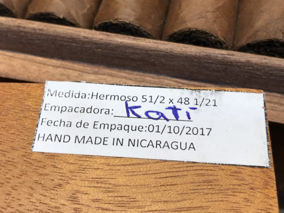 Nicarao Cigars Boxing Date