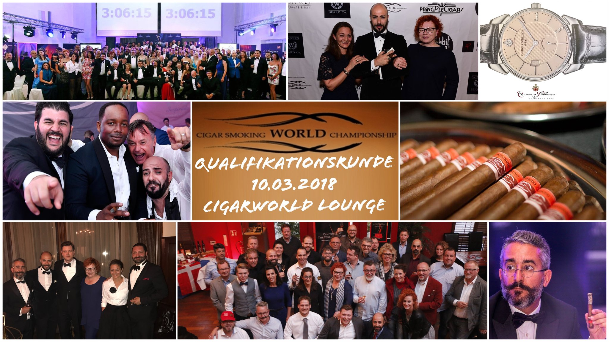 CSWC Cigarworld Event cigar smoking world championship