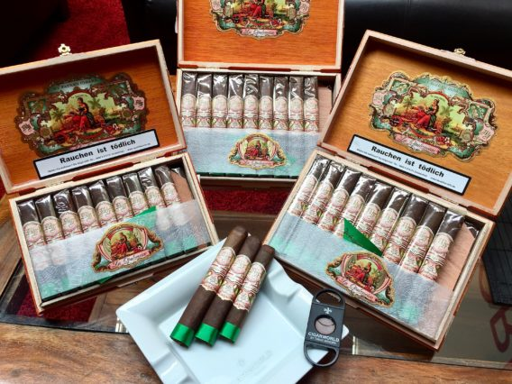 L´ATELIER LA MISSION LA DUENA DON PEPIN MY FATHER CIGARS