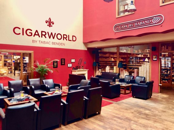 Düsseldorf Cigarworld Lounge