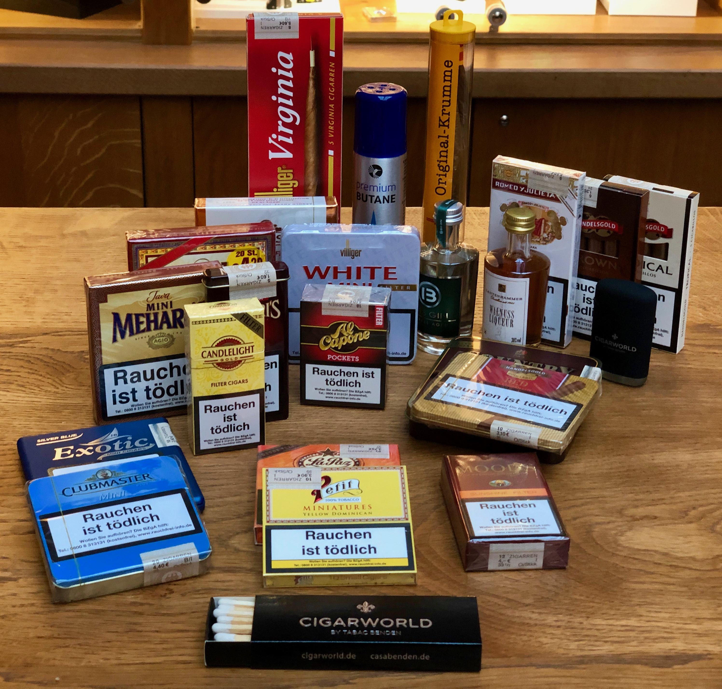 Cigarworld Adventskalender Zigarillos