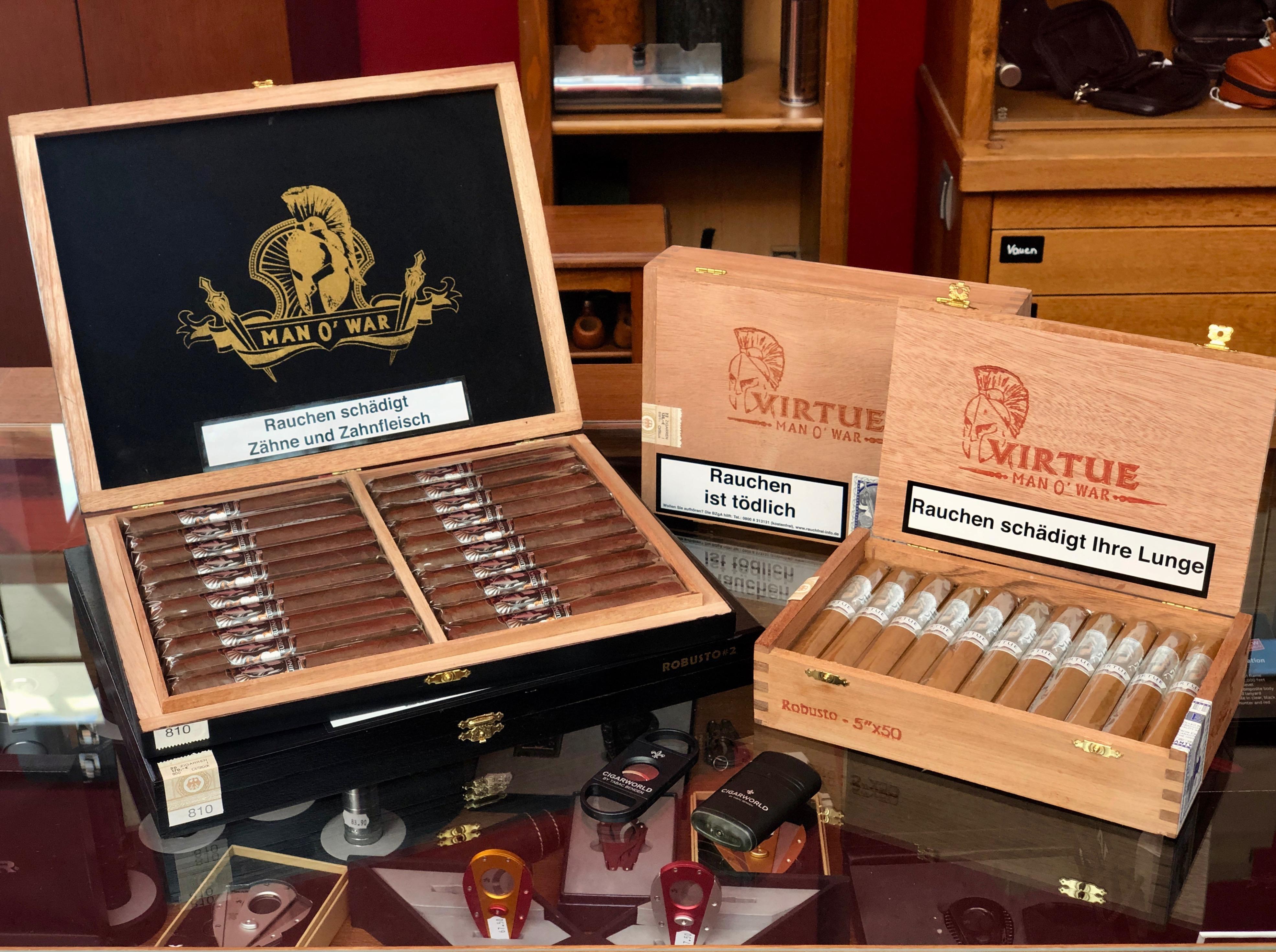 Man O'War Zigarren