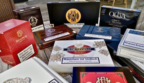 Limitierte Zigarren außerhalb Kubas