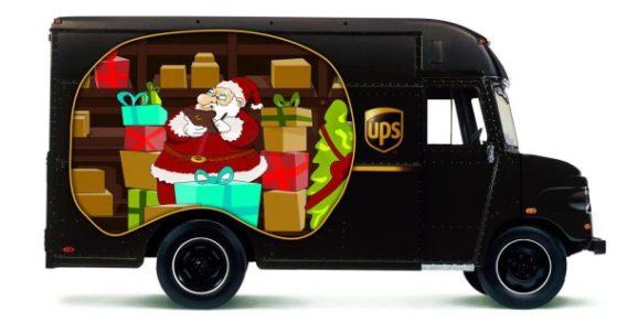 UPS Weihnachten