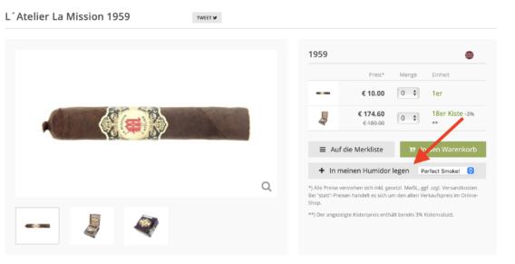 Cigarworld Private Humidor