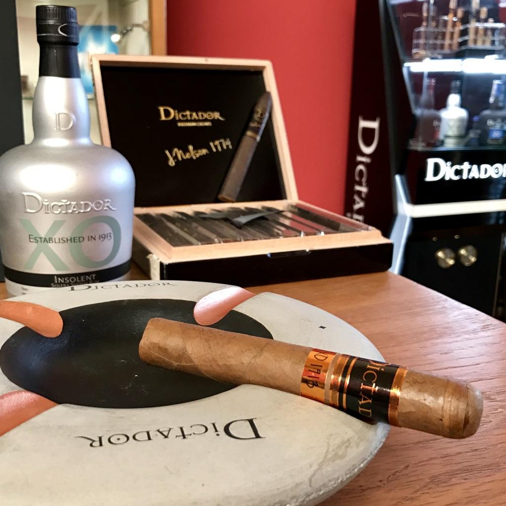 Dictador Cigar Ashtray
